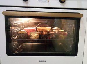 Пасхальные куличи в духовке